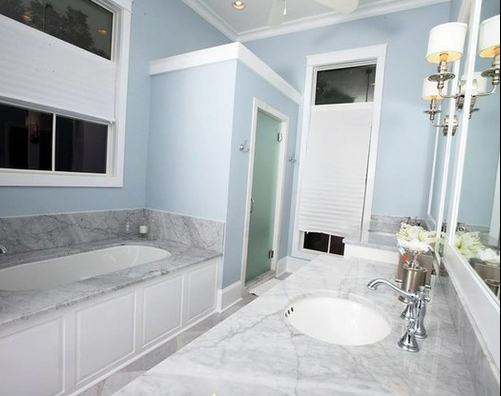 New Orleans - Beachy Cottage Bathroom